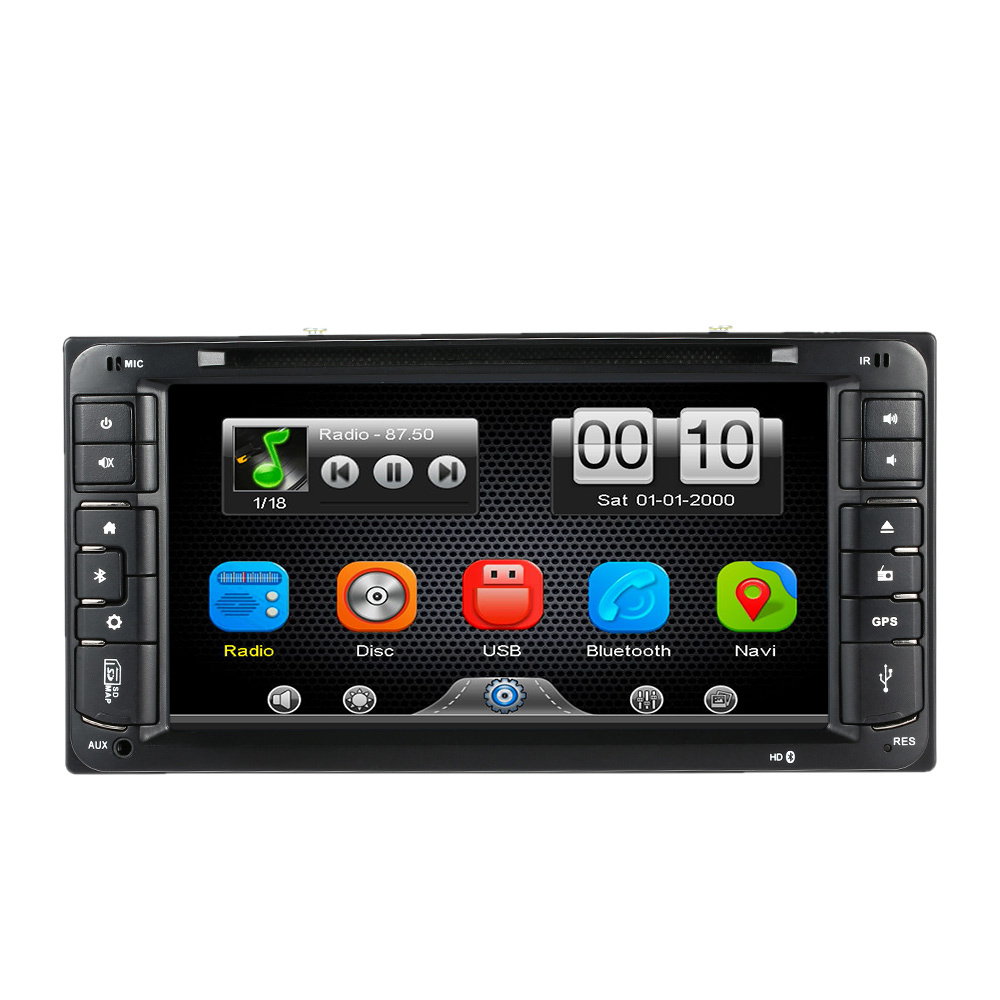 6.95 Inch Car DVD Player In Dash 2 Din Car PC Stereo Head