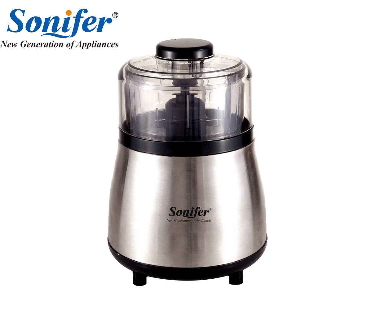 250W Home Stainless steel Electric Meat Grinder Sausage Stuffer Mincer Household Mincer Sonifer household appliances electric meat grinder stainless steel meat grinder fully automatic broken vegetables ground meat