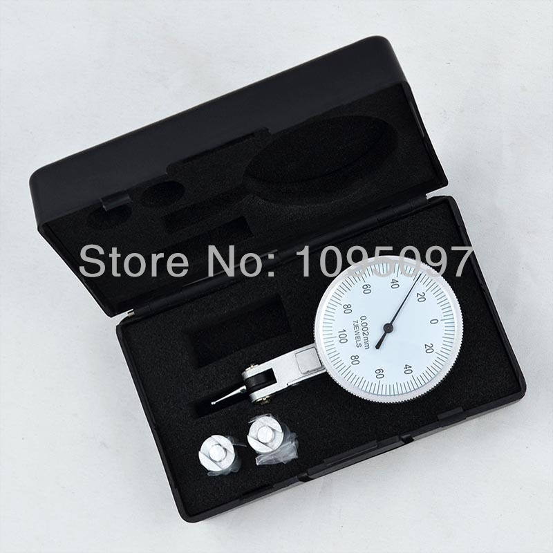 Image 5 - 0 0.2mm Lever Dial Test Indicator Precision Dial Indicator Lever Dial gauge 0.002mm  dial test  holder indicator-in Dial Indicators from Tools