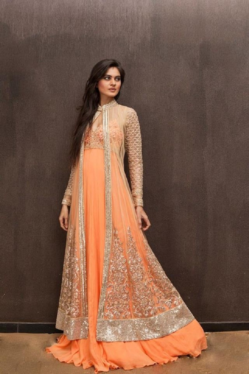 Popular indian evening dresses buy cheap indian evening for Long sleeve indian wedding dresses