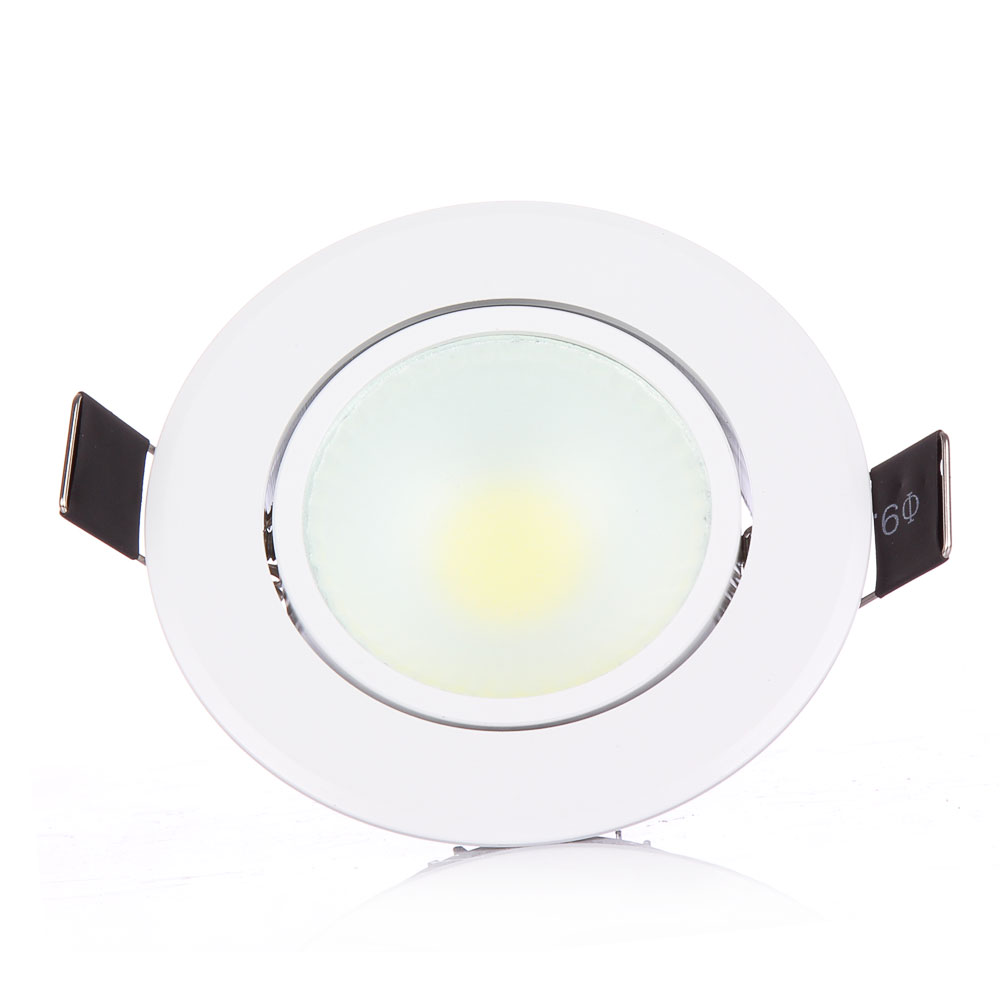 10PCS LED COB Recessed Led COBDownlight dimmable AC85 265V 5W 10W Ceiling Lamp Indoor Lighting with Led driver Led Spot Lighting in LED Downlights from Lights Lighting