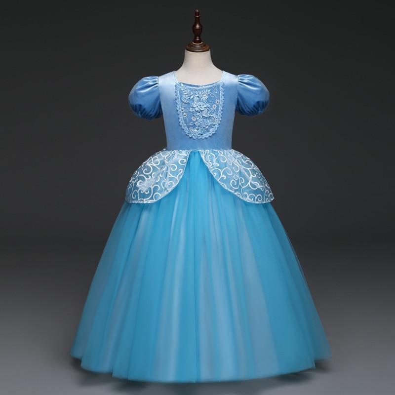 HTB1DVTewf1TBuNjy0Fjq6yjyXXaq Unicorn Dress Birthday Kids Dresses For Girls Costume Halloween Christmas Dress Children Party Princess Dresses Elsa Cinderella