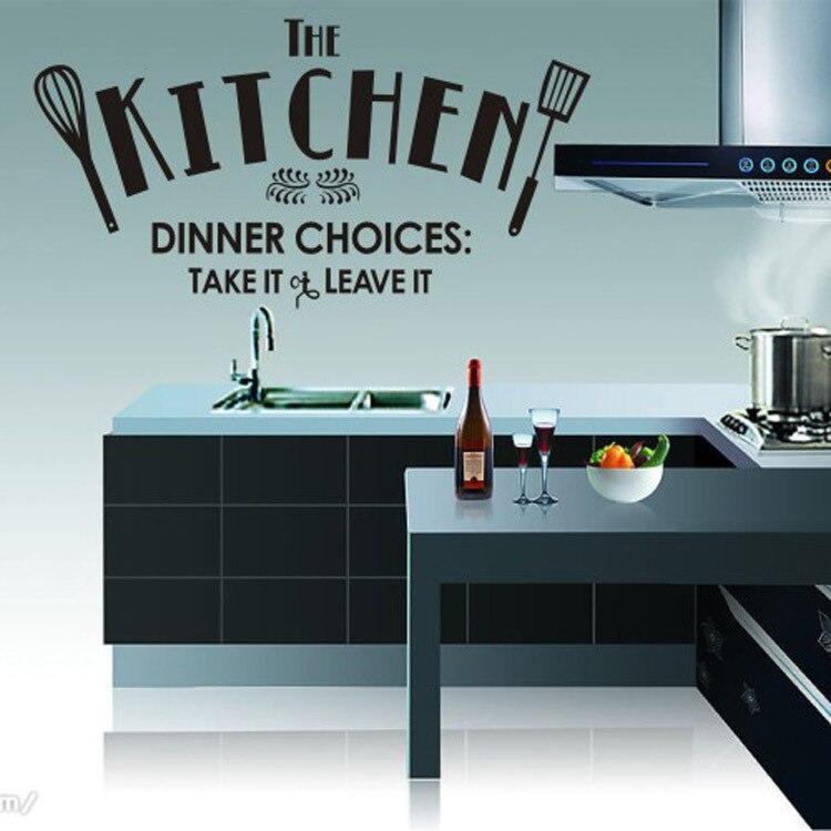 இIncredibile Cucina Adesivi Murali Impermeabile Home Decor ...