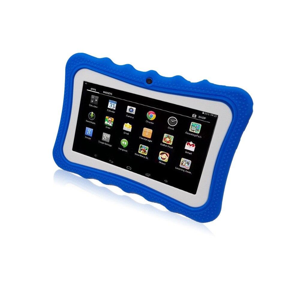 7 дюймов Детские Планшеты Android 4 ядра A33 8 ГБ ребенок учится Планшеты S 1024*600 детей Образование игры babypad на день рождения подарок