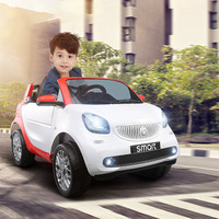 Fengda Smart Children Electric Car Four wheel Remote Control Electric Baby Car for Baby Riding Toys for Boys Kids Ride on Car