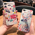 Nuevo de alta calidad bolsos del teléfono gota de alivio para iphone 6 6 s 6 plus 6 s plus para iphone 7 7 plus tapas blandas para el hombre para la mujer para niños
