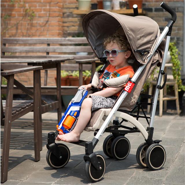 Leve carrinho de bebê Carrinho de Bebé Leve E Portátil Carrinho De Bebê Carrinhos de Bebês 3 Em 1 Sistema de Viagem Carrinho de Guarda-chuva Dobrável