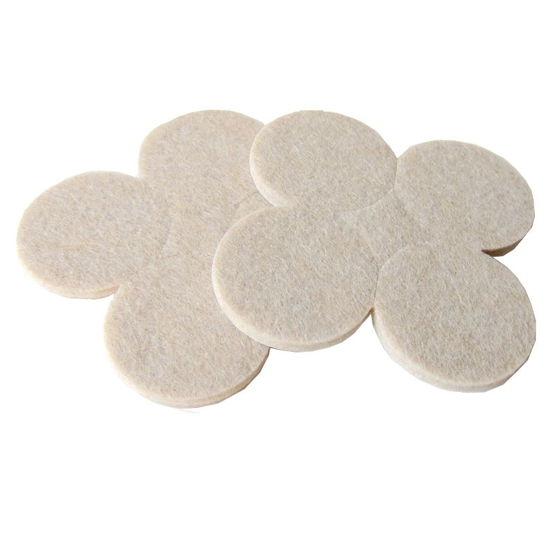 8 Pieces 42mm Round Felt Pads For Furniture Table Chair Sofa Furniture Appliance  Cushion Gasket Floor Abrasion Protector Guards