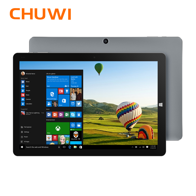 Original CHUWI Hi10 Windows10 Ar tablet PC Intel Cereja Trail-T3 Z8350 Quad Core 64 4 GB RAM GB ROM 10.1 polegada-Tipo C 2 em 1 Tablet