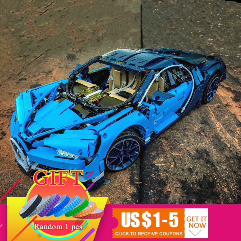 20086 4031Pcs Technical Series The Blue Racing Car Set compatible with 42083 Building Blocks Bricks Kids Toys Model Gifts lepin ...