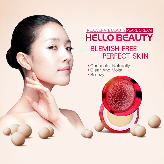 YIQI BBTOCC  Korean Cosmetic Day Pearl Cream Firming Whitening Moisturizing Anti Wrinkles Sunscreen Skin Concealer Cream