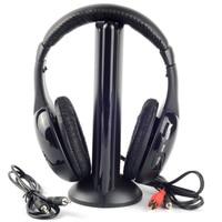 2016 MH2001 Bezprzewodowy Zestaw Słuchawkowy Słuchawki MP3 MP4 PC CD DVD Audio TV FM Radio Słuchawki i Słuchawki