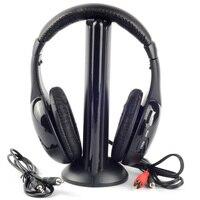 2016 Wireless Headphones Headset MH2001 MP3 MP4 PC CD DVD Audio TV FM Radio Earphones Headphones