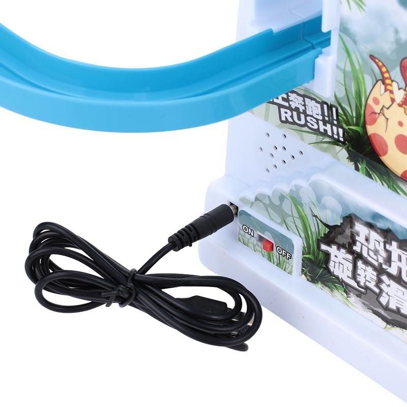 Новинка лестница трек пластиковый хобби Электрический рельс для подарка на день рождения Прямая