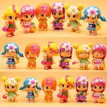 1-35 pcs/lot original cute Pinypon dolls Detachable Kids doubleface Action Toy Figures Dolls the best Gifts Random
