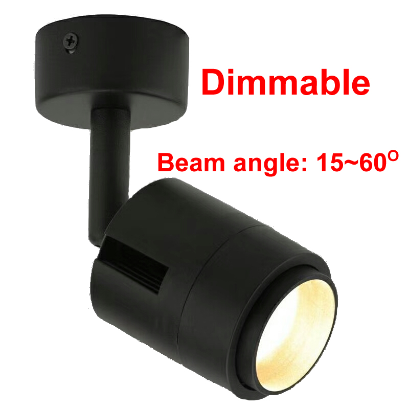 Диммируемый зум светодиодный Трек свет 7 Вт 12 Вт 110 В 220 В точечное светодиодное потолочное освещение одежда 2800 к 3000 К 4000 к 6000 К к