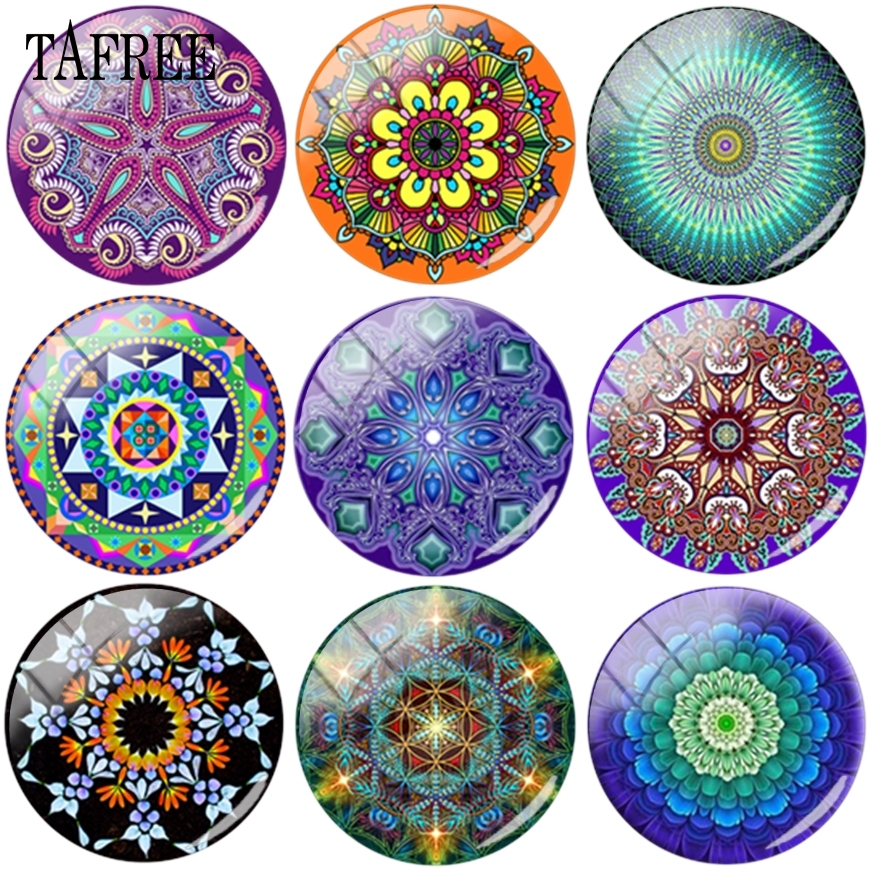 10pcs Dome Shell Cabochons Jewelry Finding 20mm for Cameo Setting Colorful 15mm
