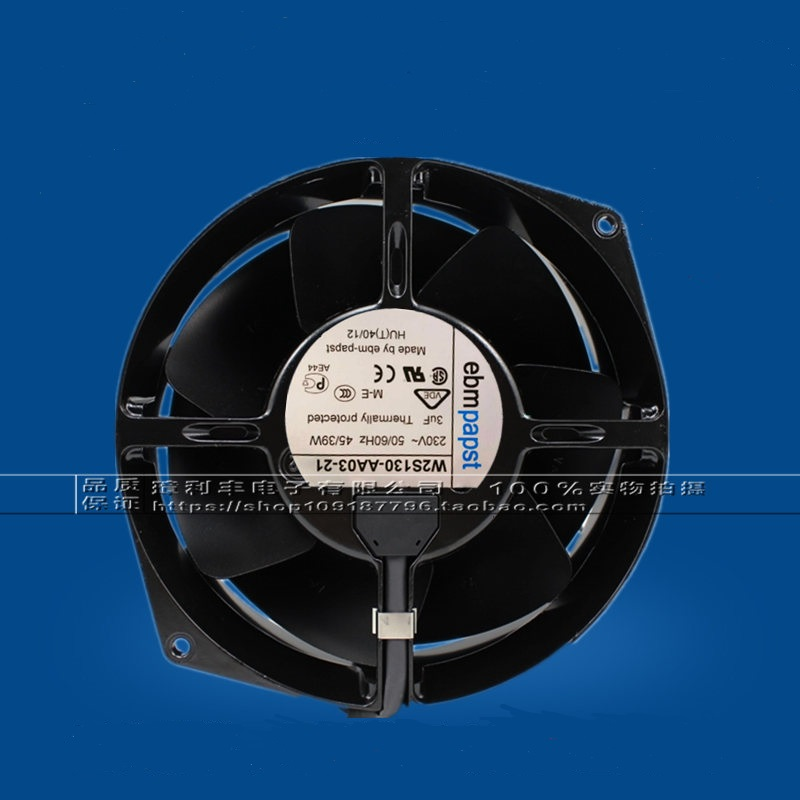 New original W2S130-AA03-21 230V 45W all-metal high temperature fan new original w2e142 bb05 01 115v 25w 17cm 17238 all metal high temperature fan