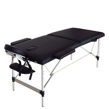 "84"" Portable Foldable Aluminum Massage Table SPA Bed with Carry Case Beauty Salon Therapy Massage Bed Treatment Table - US Stock(China)"