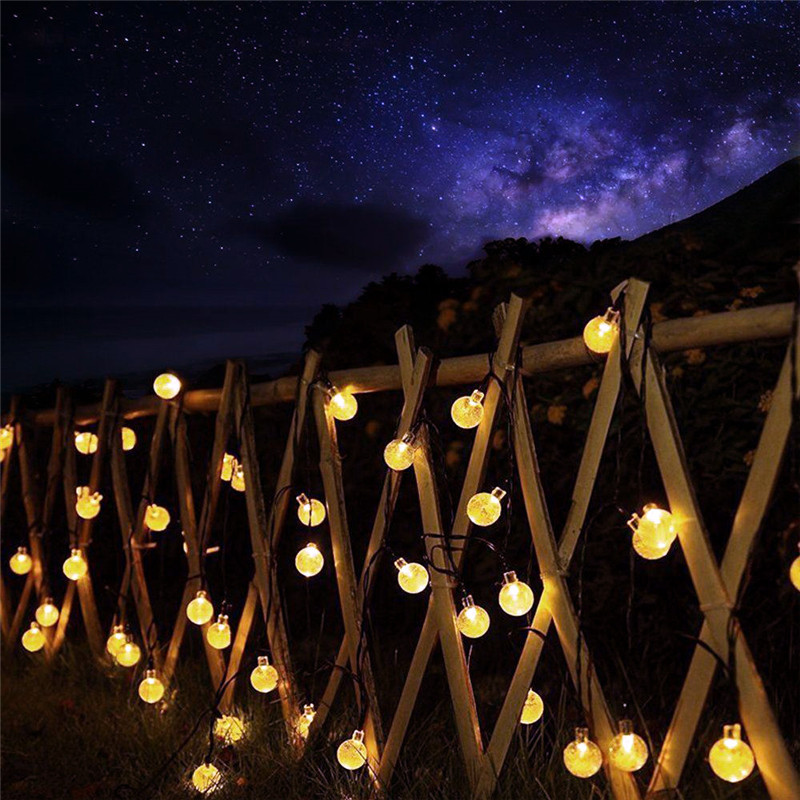 led string luzes de fadas solar guirlandas 04