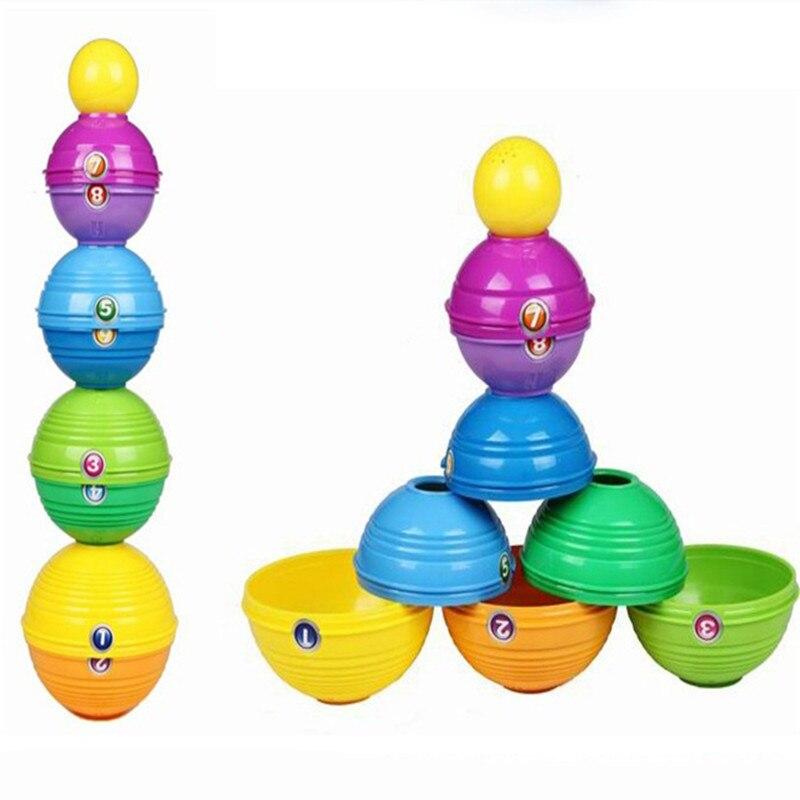 (yandex) Bausteine Kinder Regenbogen Kreis Kind Lehrmittel 20 Cm Lol Baby Spielzeug 0-12 Monate Action Figur Vegeta Hoher Standard In QualitäT Und Hygiene