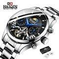 Автоматические механические часы для мужчин s часы лучший бренд класса люкс HAIQIN часы для мужчин бизнес турбийон спортивные наручные часы ...
