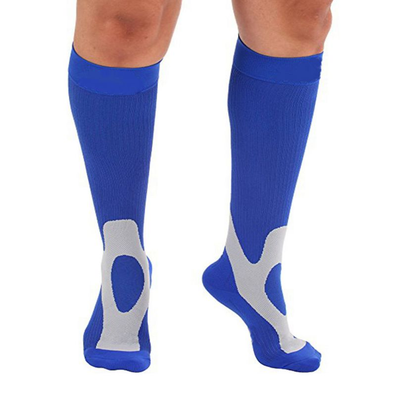 New Style Compression Socks Comfortable Relief Soft Leg Support Stretch Breathable Socks