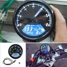 Licznik motocyklowy LED cyfrowy obrotomierz przebieg prędkościomierz miernik oleju dla 1/2/4 Cylinder wielofunkcyjne akcesoria motocyklowe