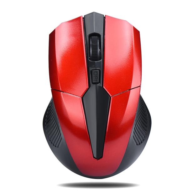 OMESHIN 2.4GHz Mice Optical Mouse Cordless Wireless Noiseless Button Optical Mice Computer Mouse With USB Receiver For PC Laptop