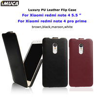 Xiaomi Redmi Note 4 Case Xiaomi Redmi Note 4 Pro Cover Flip Leather Cases IMUCA Luxury