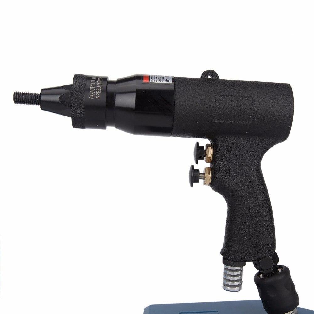 M10/M12 Пневматические заклепочники 805 пневматический Вытяните сеттер Air заклепки, гайки пистолет инструмент только для Алюминий заклепки