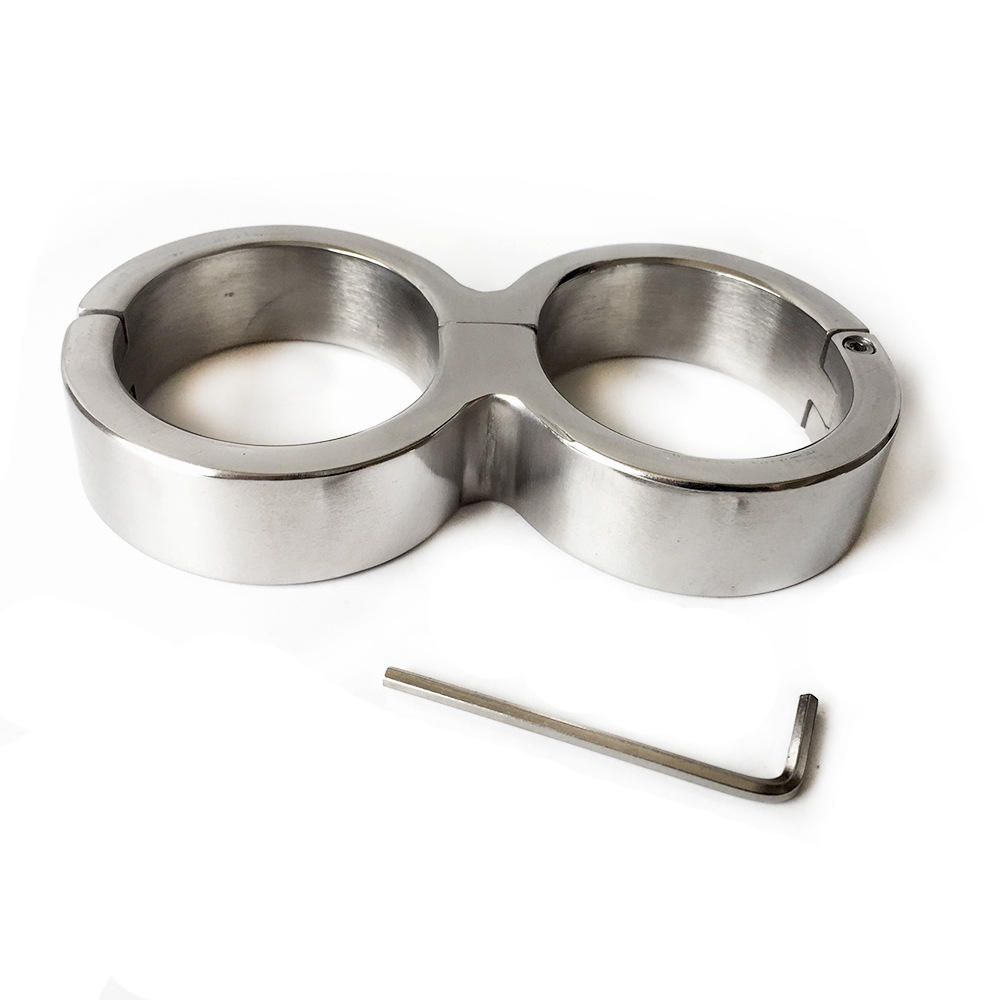 Stainless Steel Sex Handcuffs Bdsm Bondage Cuffs Fetish Toys For Couples Metal Handcuffs Sex Tools Bdsm Adult games For Women stainless steel frame restraint dildo sex bdsm bondage handcuffs sex toys for couples adult games fetish bdsm sex tools for sale