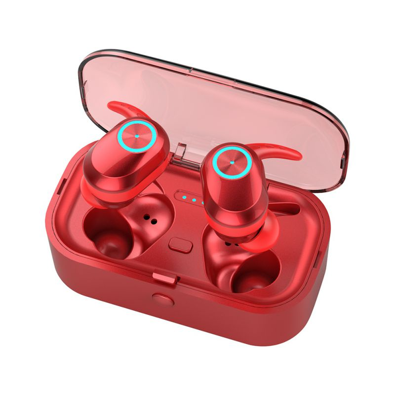 Auto Pairing For Bluetooth Headphone With Charging Box Wireless Portable Earbuds Headset Practical Stylish Earphones