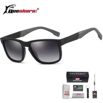 81749bb1f3 UV400 polarizadas deporte gafas de sol hombres bicicleta Glassses ciclismo  senderismo corriendo esquí pesca gafas
