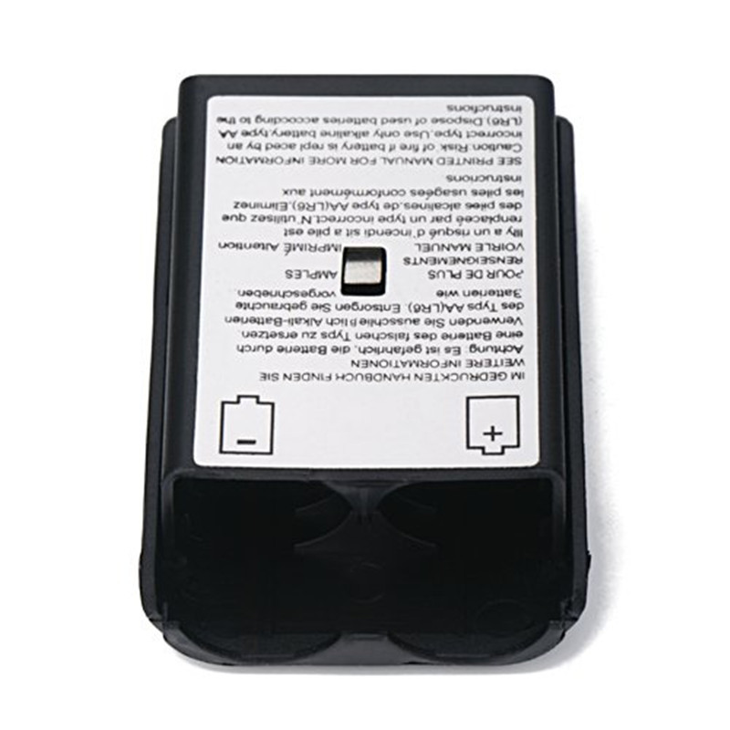 For Xbox Controller Battery Protective Accessories Black Battery Pack Cover Shell Case Kit for Xbox 360 Wireless Controller