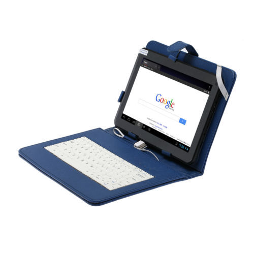 Free Shipping Boda 10 Android 4.4 Tablet A64 Quad Core 8GB Dual Camera w/ Blue Keyboard Gift usb flash drive 10 tablet pc