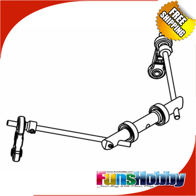 MCD Racing RR5 XS5 Anti-Roll Bar Set F/R 3.5mm.COD.360101X
