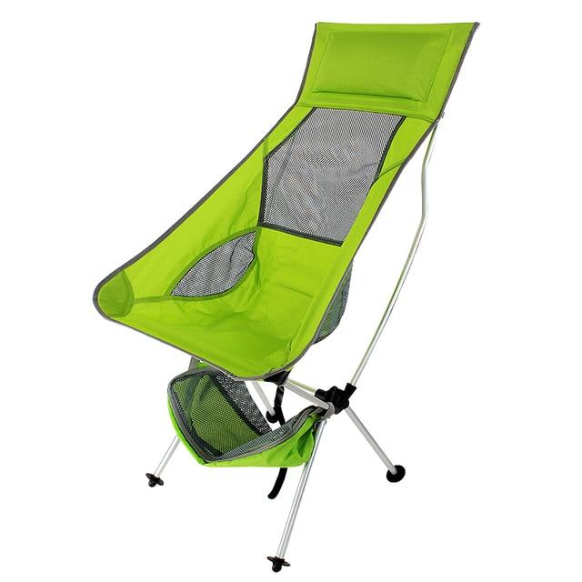 Portable Folding Chairs Aluminium Alloy Fishing Chair 600D Oxford Camping  Chair Outdoor Picnic BBQ Beach Chairs