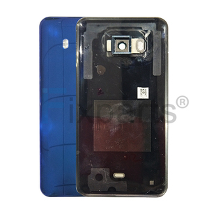 Image 4 - original NEW For HTC U11 Battery Cover With Camera Lens Glass Door Back Housing Case For HTC U11 U 3w W 1w Back glass back cover