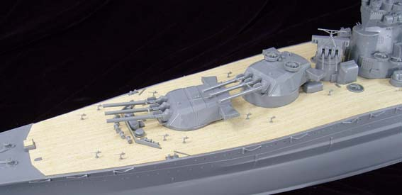 ARTWOX 78014 Yamato Japanese Tamiya battleship wooden deck AW10004