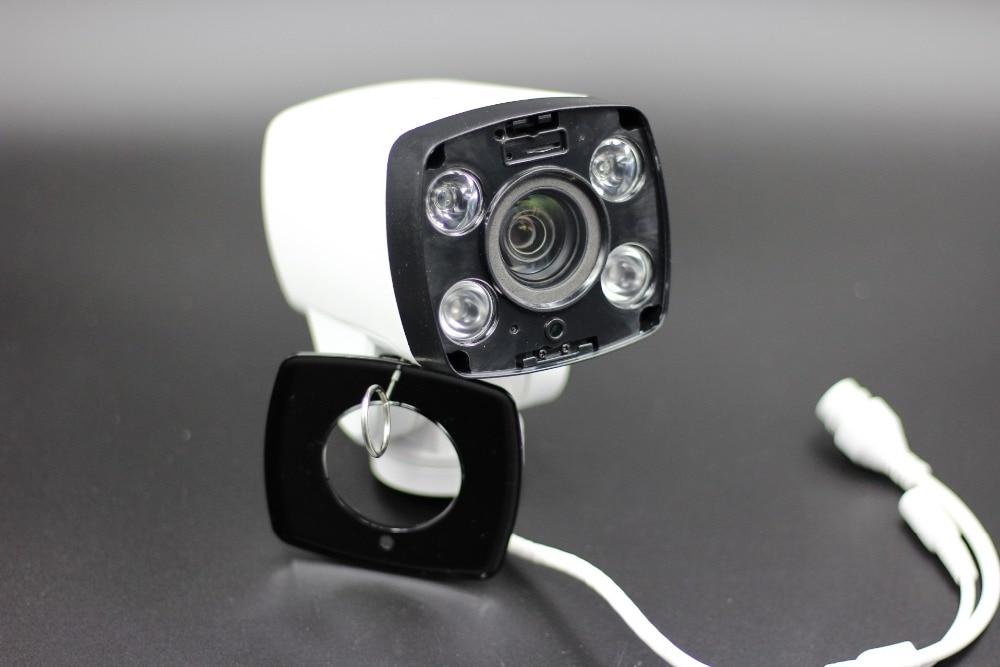 4X optical zoom bullet 1080P 2 Megapixel Mini PTZ IP Camera Support Hik IVMS 4200 Software