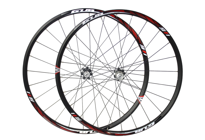 27.5 24H GUB RIDE Disc Brake Bike Wheel Mountain Bicycle 27.5er MTB Bike Wheelset Hubs Rim 3 colors 1950 ultralight bearing hubs mtb mountain bicycle hubs 32 holes 4 bearing quick release lever mountain bike disc brake parts 4colors