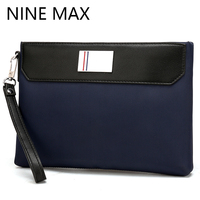 Polo Fashion Men Oxford Cloth Casual Day Clutch Business Handy Bag Phone Case Card Holder Retro