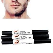 Rápido e Eficaz Rosto Barba bigodes bigode crescimento Melhorar A Forma de pulverização estilo caneta líquido Potenciador crescimento líquido caneta