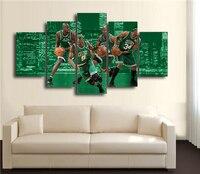 2017 Лидер продаж Баскетбол команда рисунок холст картина большая HD Wall Книги по искусству фильм украшения дома фотографии печатает известный...
