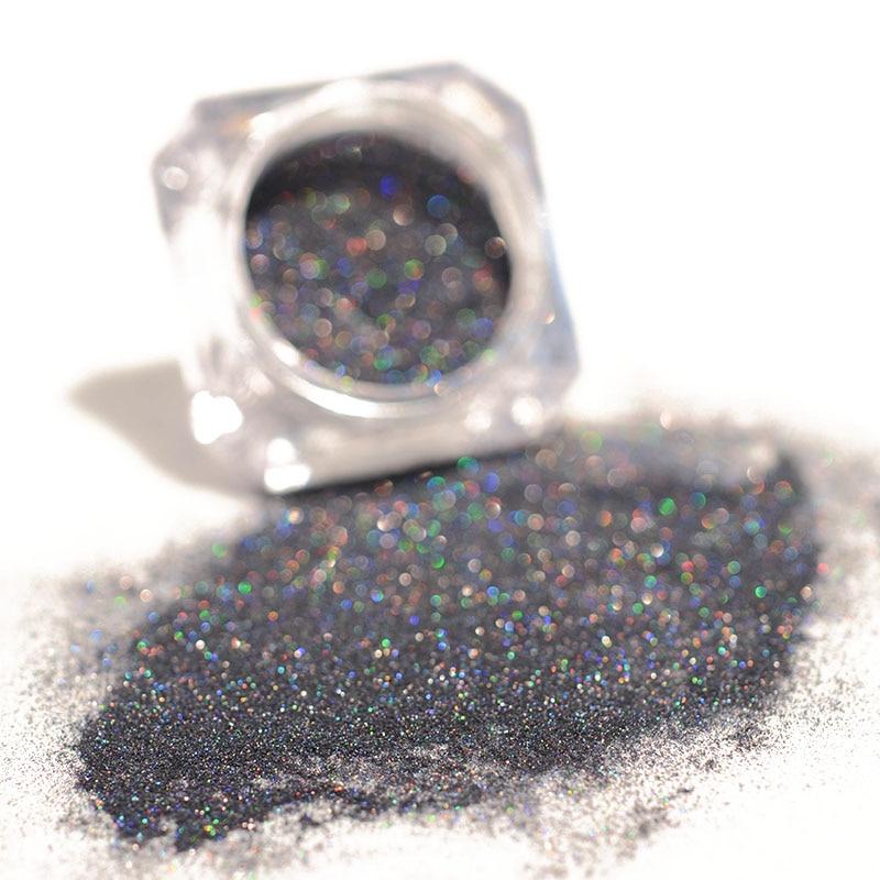 Schönheit & Gesundheit Ausdauernd Holographische Grau Laser Nagel Glitter Glänzende Pulver Chrom Staub Pigment Für Maniküre Nagel Kunst Dekoration Zubehör