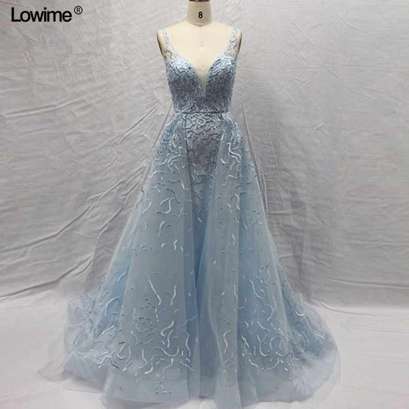 6a1f48bd4c Sexy Long Baby Blue Mermaid Formal Evening Party Prom Dress Turkish Arabic  Evening Gowns Dresses Avondjurk Robe De Soiree 2018