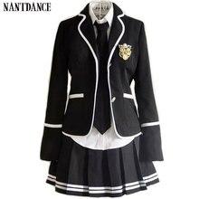 Детская школьная форма одежда с длинными рукавами костюм для хора начальной школы форма для учащихся в британском стиле