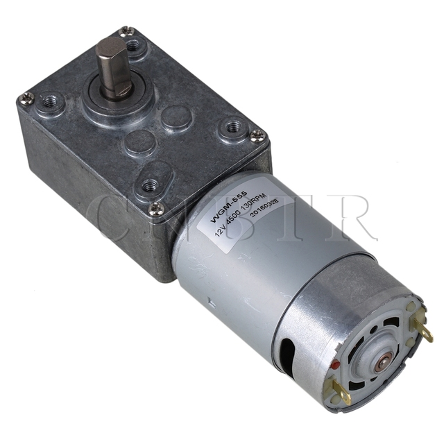 Buy cnbtr 130rpm right angle high torque for Right angle dc motor
