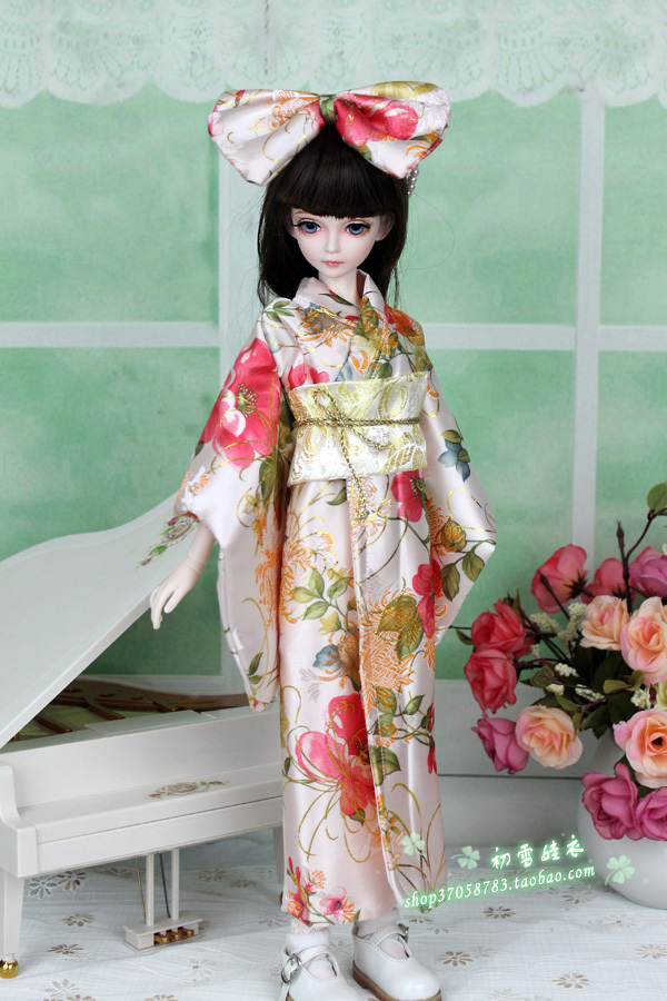 1/3 1/4 scale BJD Japanese kimono for BJD/SD girl dolls,A15A1184.Doll and other accessories not included